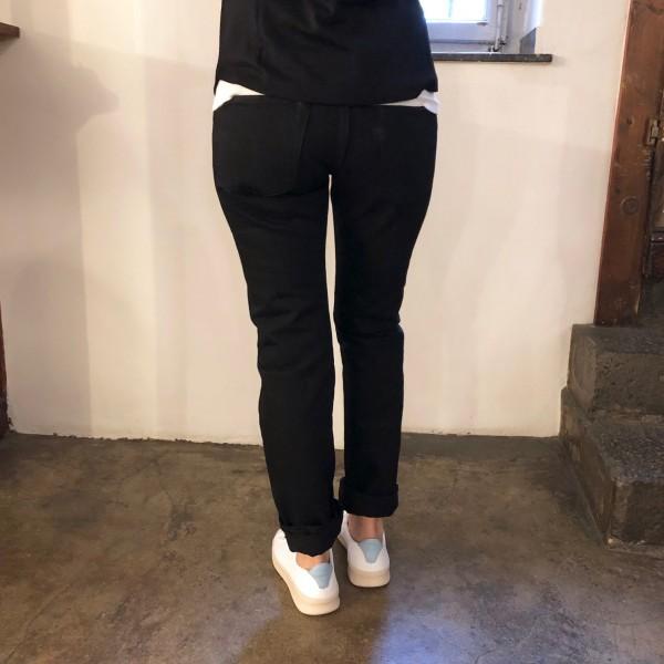 tenryo x stuf|f | 14oz black x black jeans w