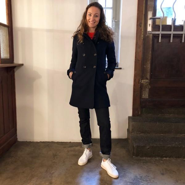 hidden aces | wool coat kainis royal