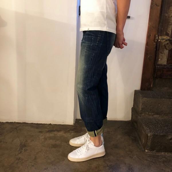 indigofera | nico jeans dark worn
